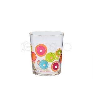Komplet szklanek dekorowanych (3 szt.)