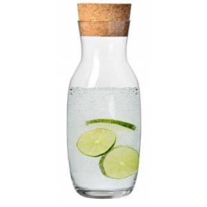 Karafka do wody z korkiem Basic Glass