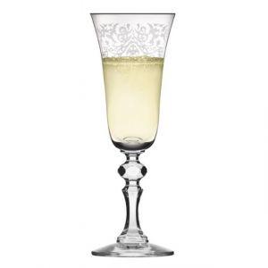 Kieliszki do szampana Krista deco