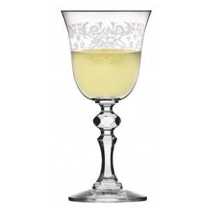 Kieliszek do wina białego Krista deco