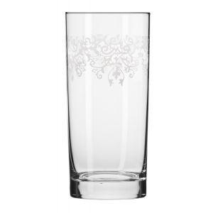 Szklanki long drink Krista deco