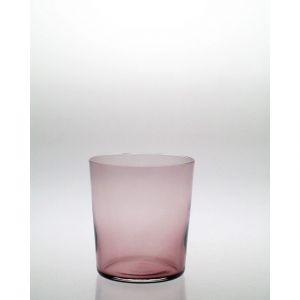 Szklanki z ametystowego szkła 350 ml