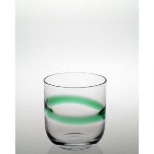 Szklaneczki z zieloną aplikacją 70 ml
