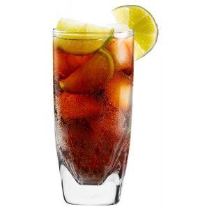 Wysokie szklanki do napojów Mixology 330 ml