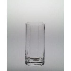 Wysokie szklanki z pionowym szlifem 420 ml