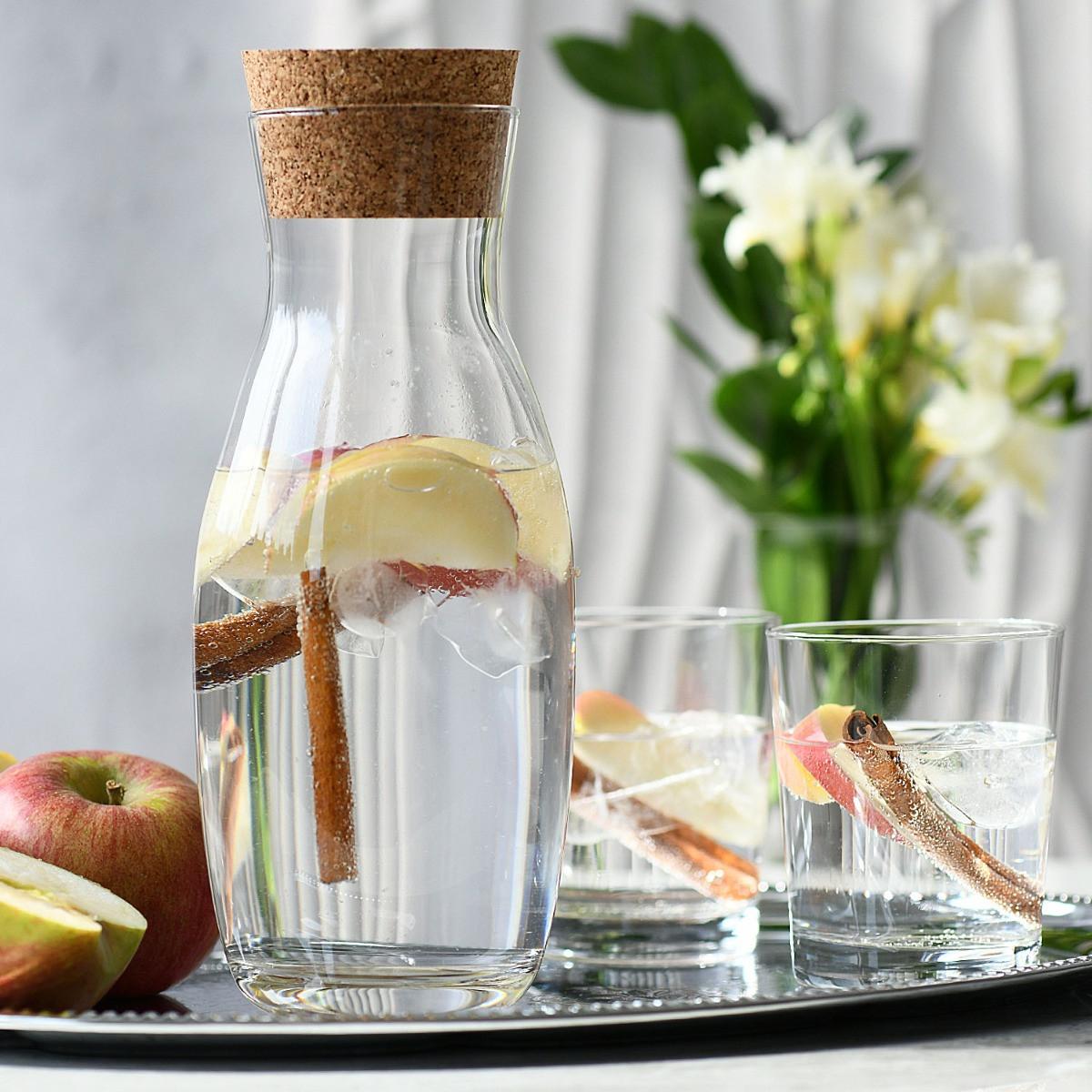 Karafka do wody z korkiem naturalnym Pure KRSONO