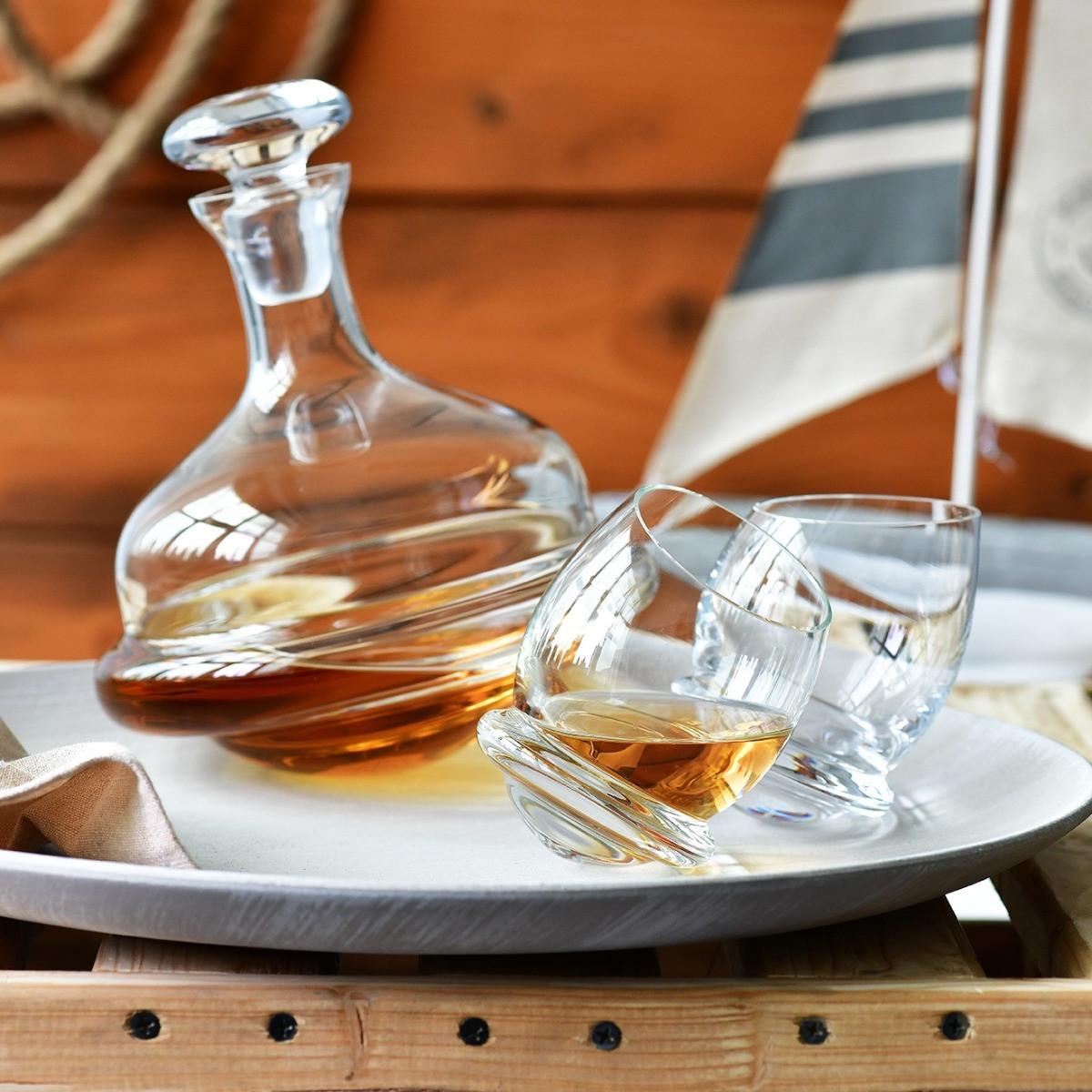 Karafka do whisky Roly-Poly KROSNO - pomysł na prezent dla taty