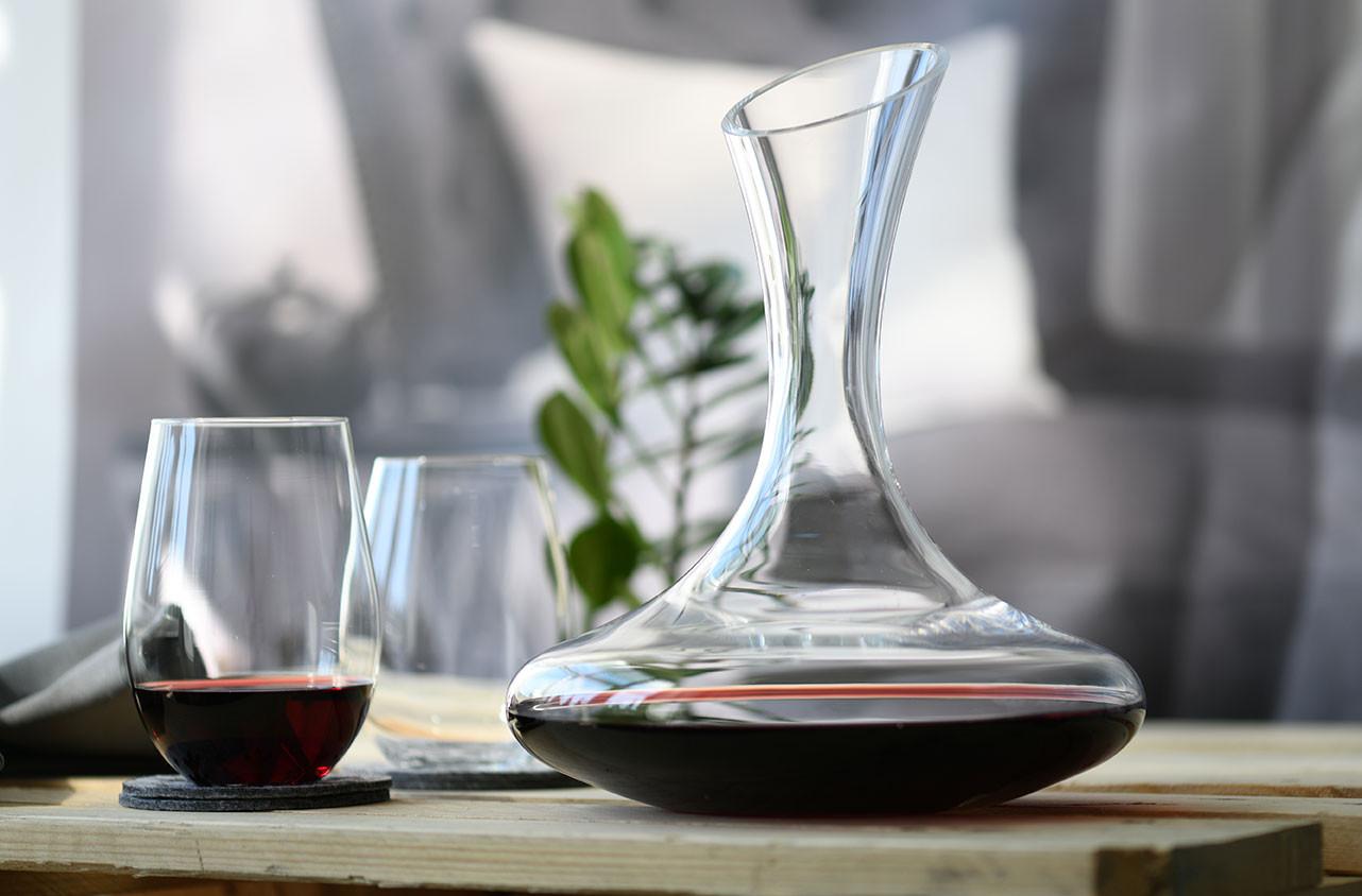 Szklanki do wina Harmony KROSNO, kieliszki bez nóżki