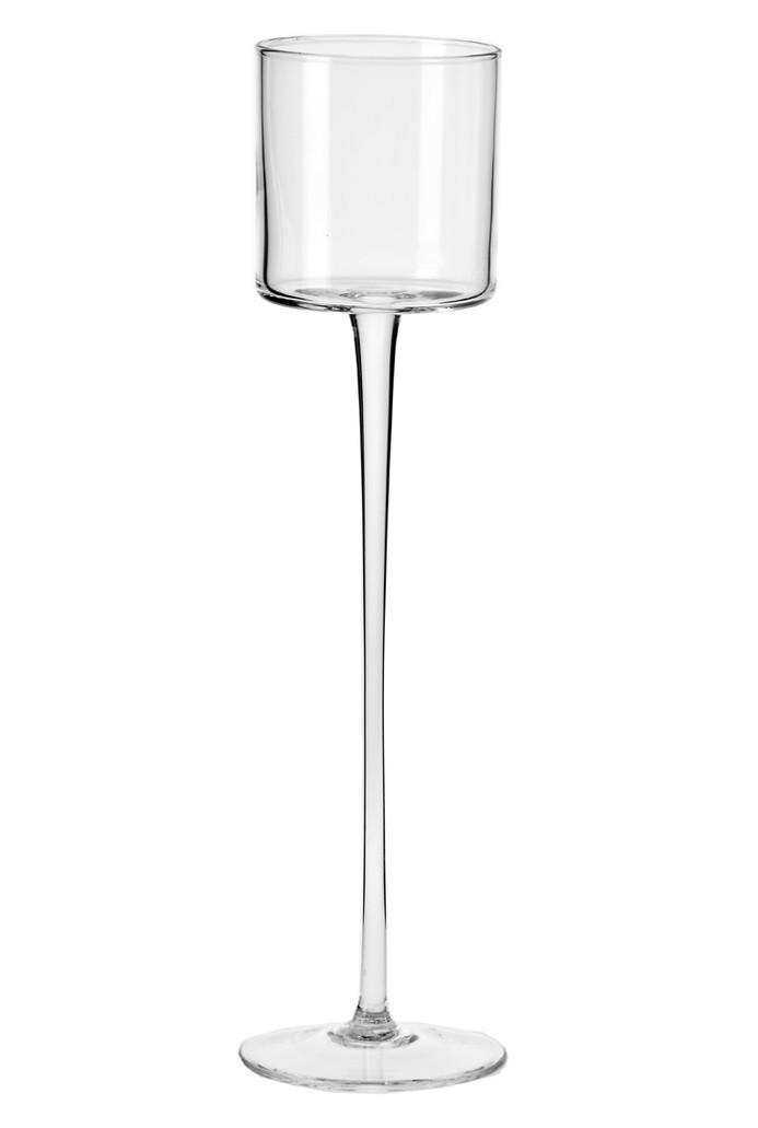 Świecznik na nodze Glamour KROSNO 40 cm