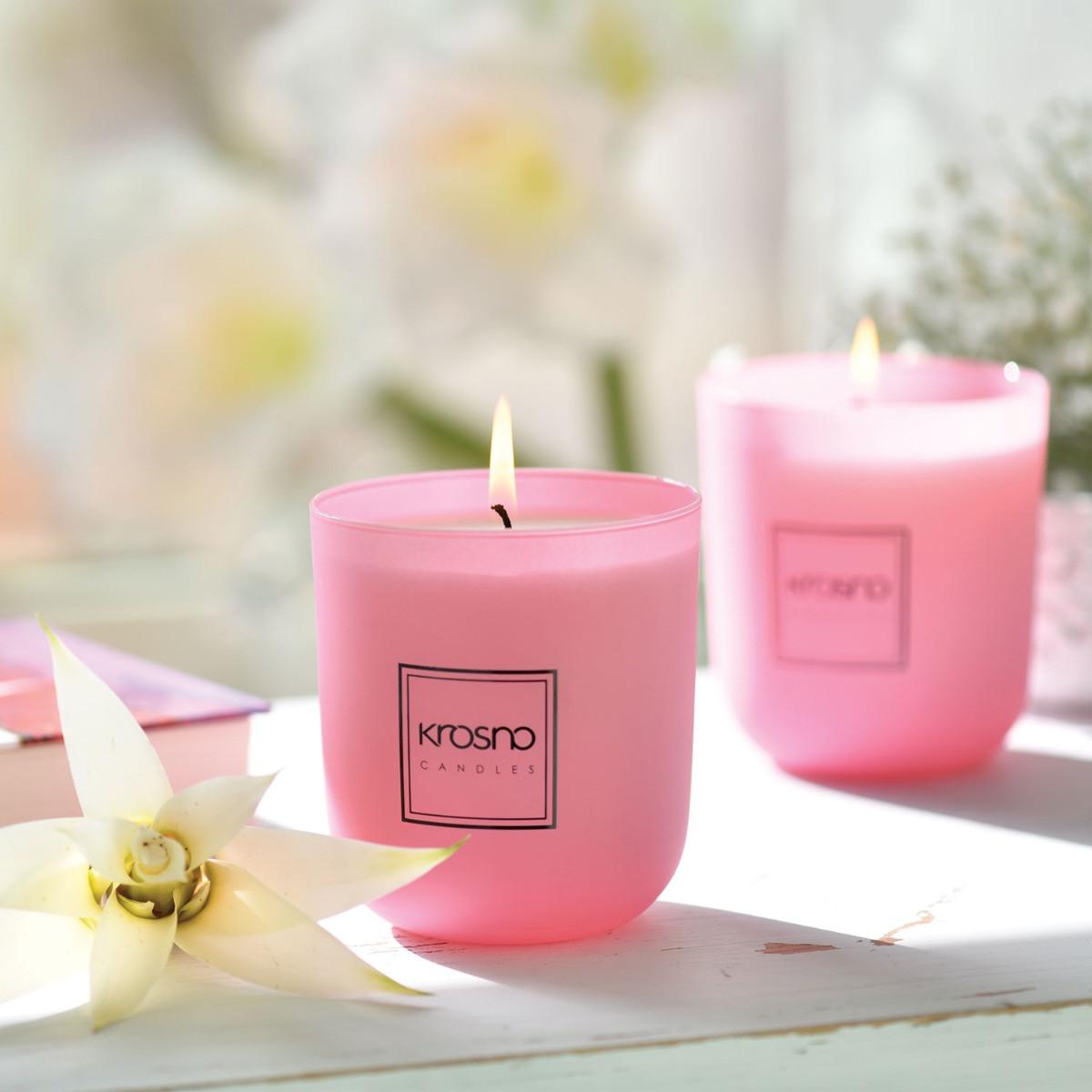 Świece zapachowe Glamour KROSNO Candles