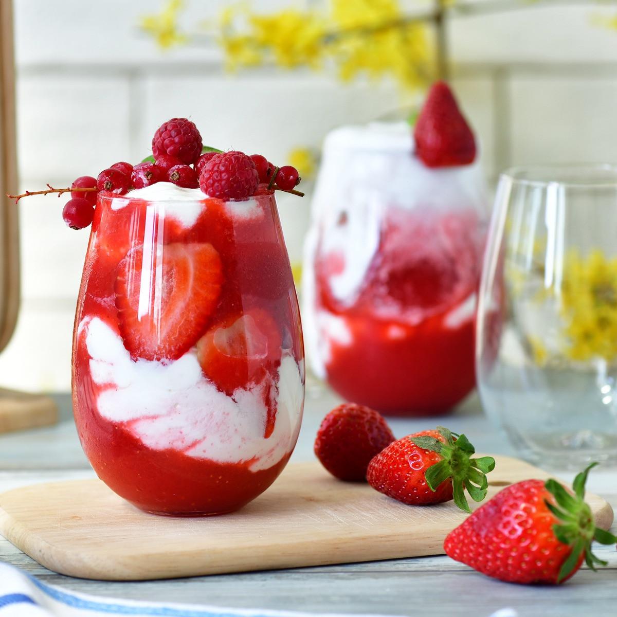 Szklanki do serwowania deserów i lodów Harmony KROSNO