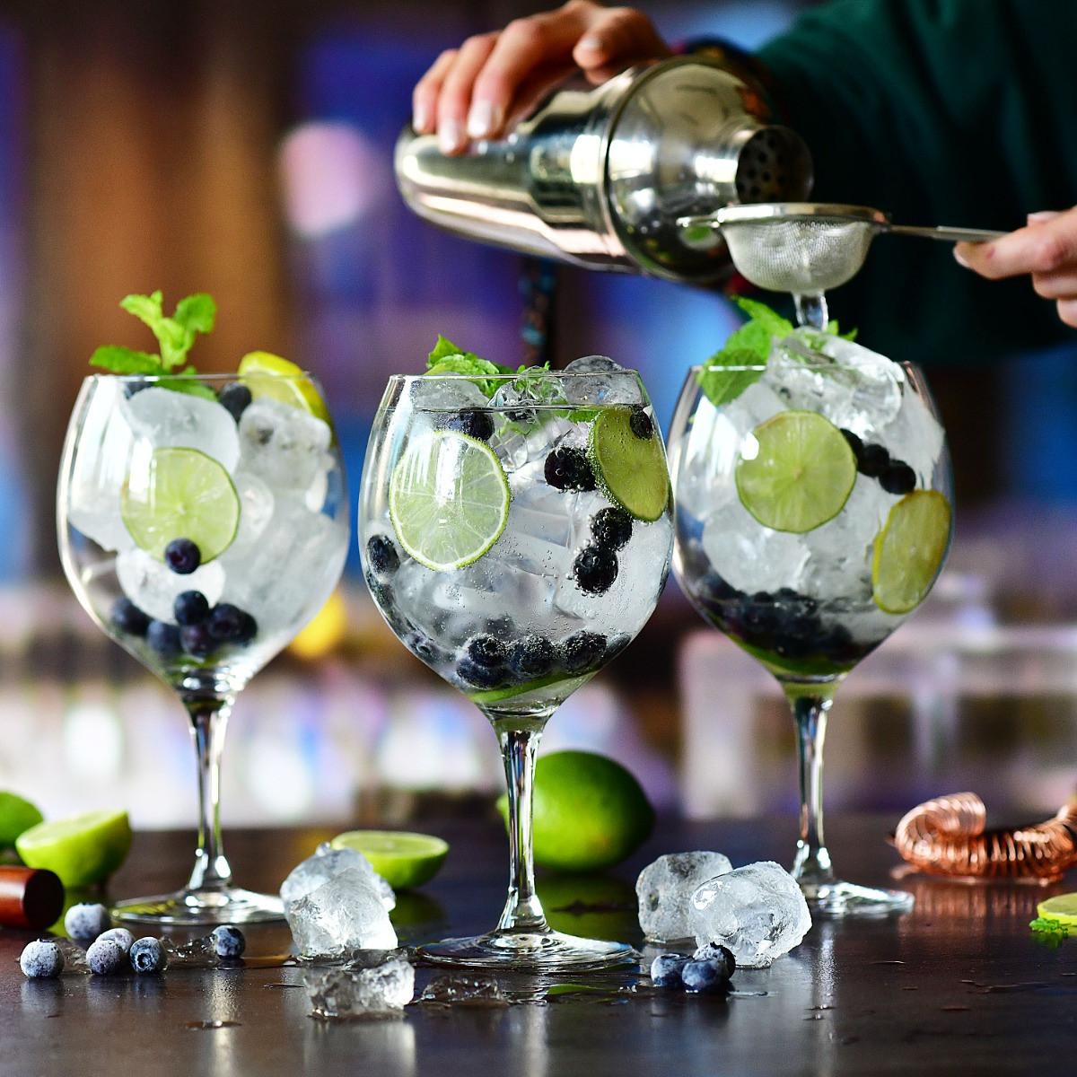 Kieliszki do drinka Gin z tonikiem Harmony KROSNO 700 ml