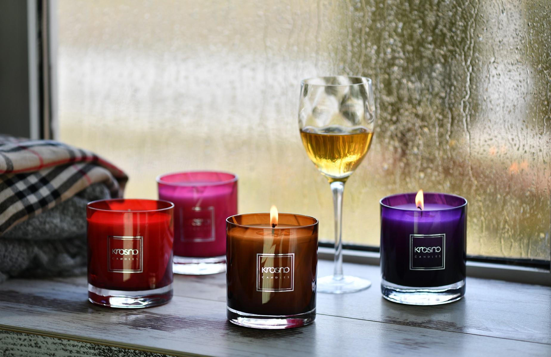 Dekoracyjne świece zapachowe Romance