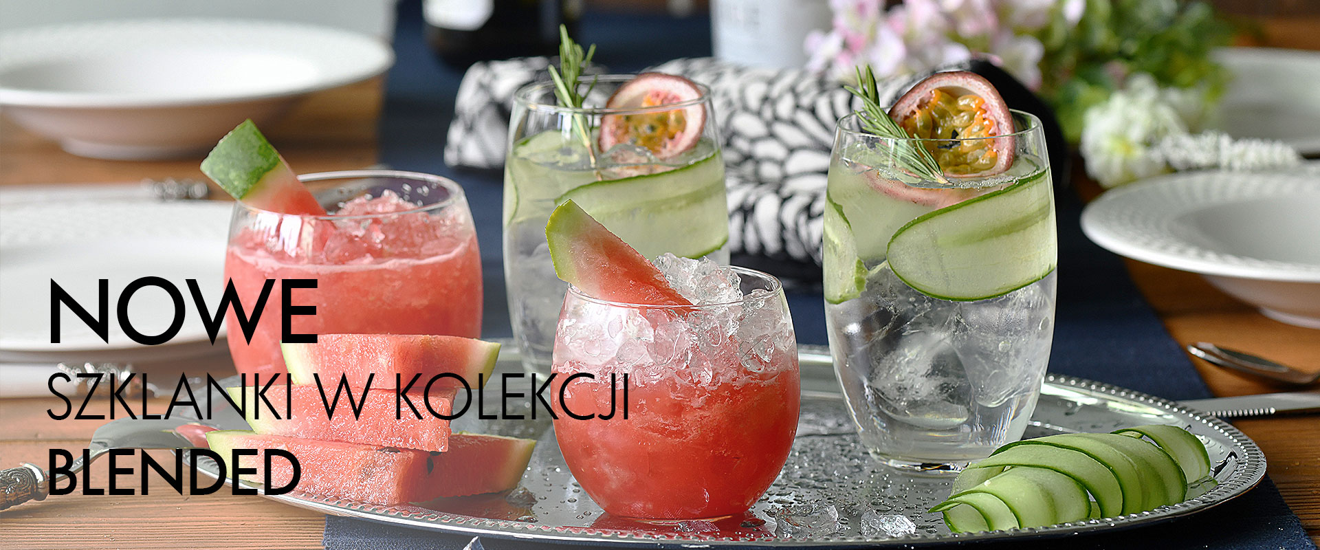Nowe szklanki w kolekcji Blended KROSNO