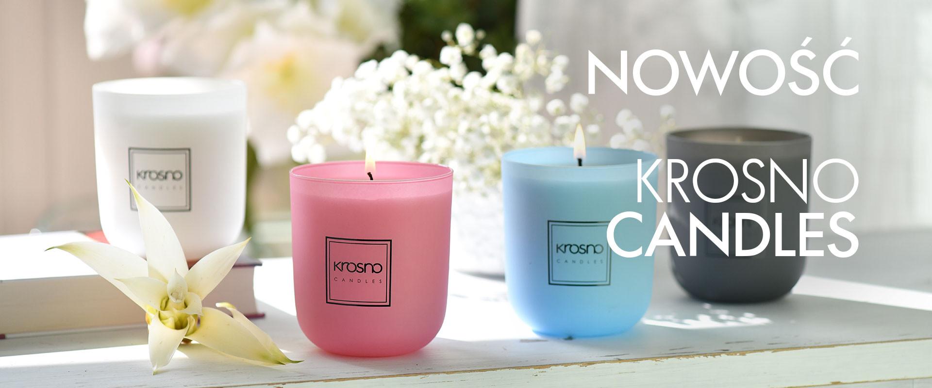Dekoracyjne świece w szkle KROSNO Candles